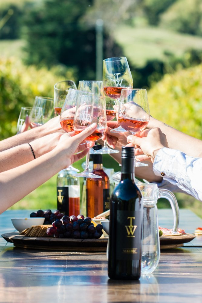 TW Wines home page