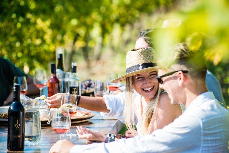 TW Wine - in the Vineyard