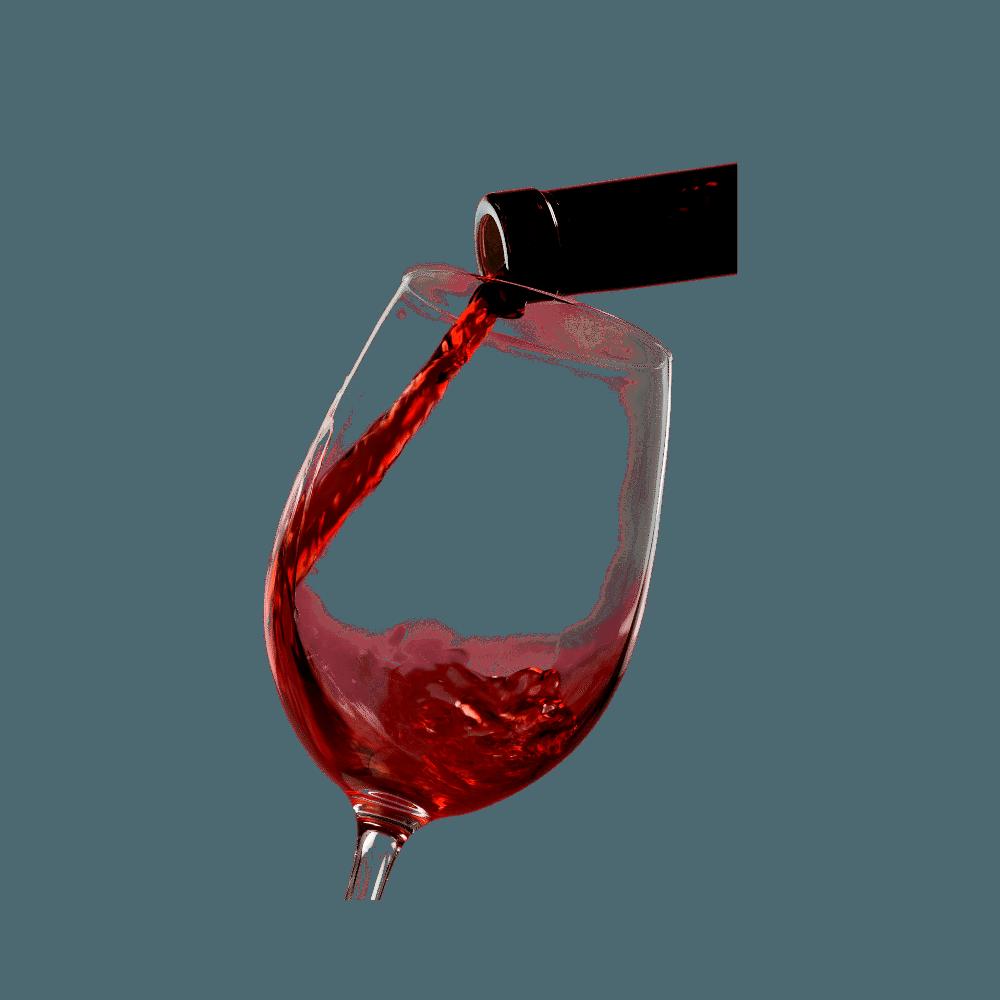 TW Wines - red wine glass
